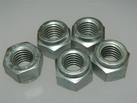 "5 x 1/2"" UNC Nuts Locking Steel Special Nut Knurled Top [N3]"